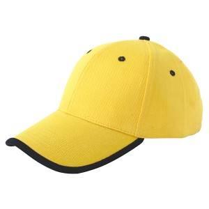 6602:重拉丝棉帽,镶边帽