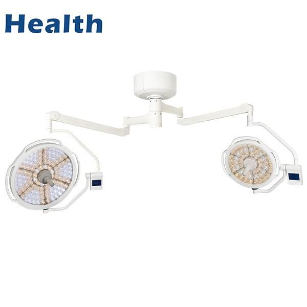 LEDD500 / 700天花板LED双头医院医疗灯与CE证书特色图像