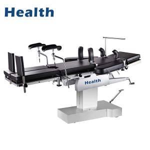 工厂免费样品电脑手术台- TY不锈钢手动液压手术室手术台-万宇