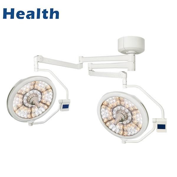 带墙壁控制功能的天花板LED双圆顶医疗操作灯雷竞技原生app