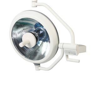 DB500壁挂式卤素手术灯,手动对焦