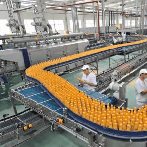 Full automatic fruit juice production line/mangi juice making machine