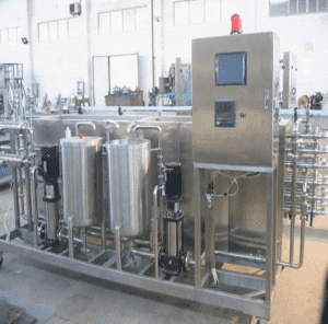 Industrial 500L/h Ice Cream Production Line Machinery