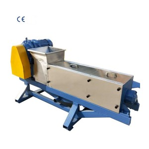 Extractor Machine Double Screw Continuous Press Steel Stainless Fruit Vegetable Juice Machine
