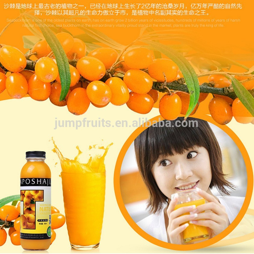 100% Natural Industrial Seabuckthorn Juice Press Machine With Retaining High VC