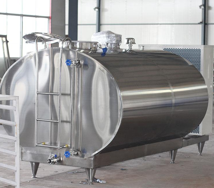 Milk Cooler Tank / High Quality Stainless Milk Cooling Storage Transport Silo Tank / Stainless Steel Tank Dairy Machine Cooler