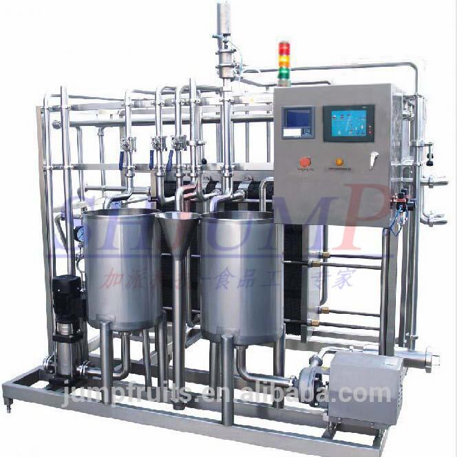 Pasteurized Milk Processing Machine Milk Production Line / Equipment / Milk Processing Machinery Plant