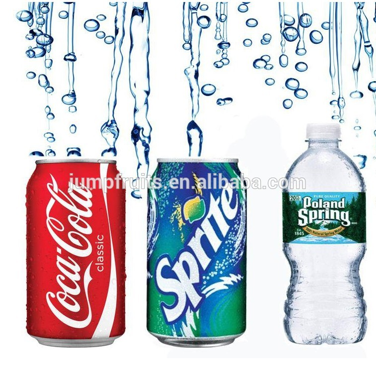 Automatic Coke / Sprite / Gas Drink Filling Production Line