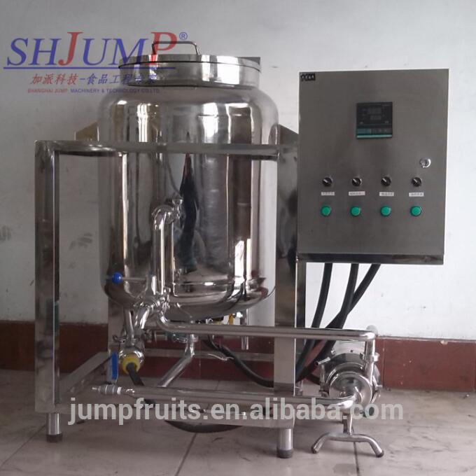 Pasteurize Dairy Condensed Milk Production Line Milk Pasteurizer