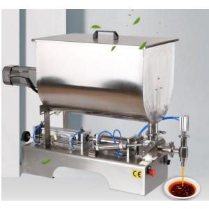 Chili Sauce Filling Machine Garlic Chili Sauce Mixing And Filling Machine Customized Pesto Filling Machine
