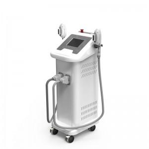 Vertical IPL SHR Machine for hair removalelight ipl rf nd yag laser ipl shr