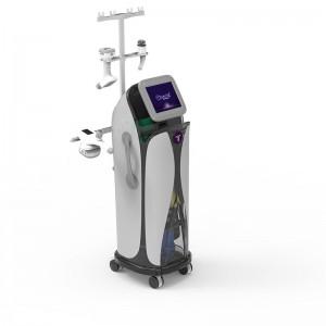 Vacuum rf rolling cellulite fat removal massage vela shape slimming machine