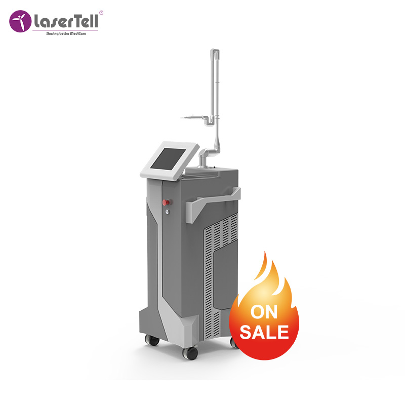 High quality scar removal face lifting skin tightening fractional CO2 laser wrinkle removal facial wrinkle removal machine