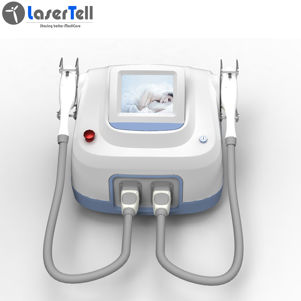 LaserTell iMED-two handles hair removal IPL Beauty Machine