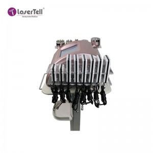 Professional rf lipo laser cavitation ultrasonic vacuum body slimming machine
