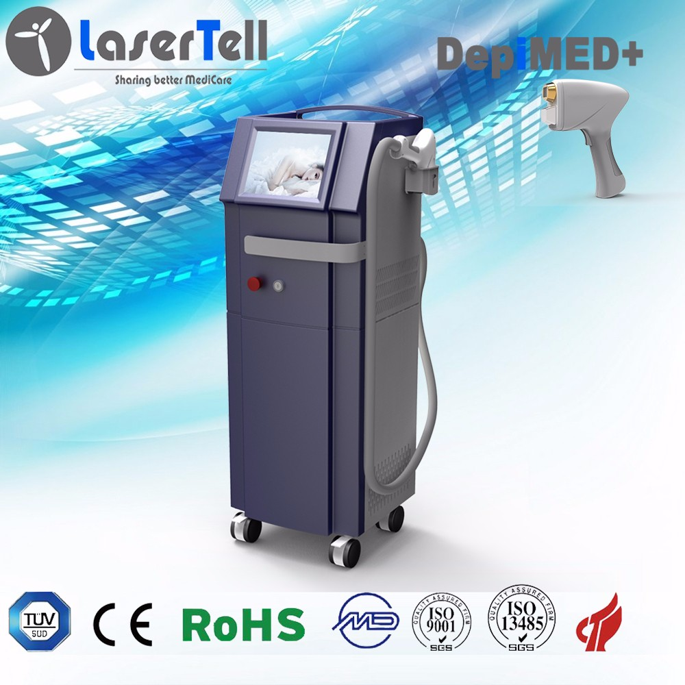 DepiMED+ 808nm diode laser hair removal machine