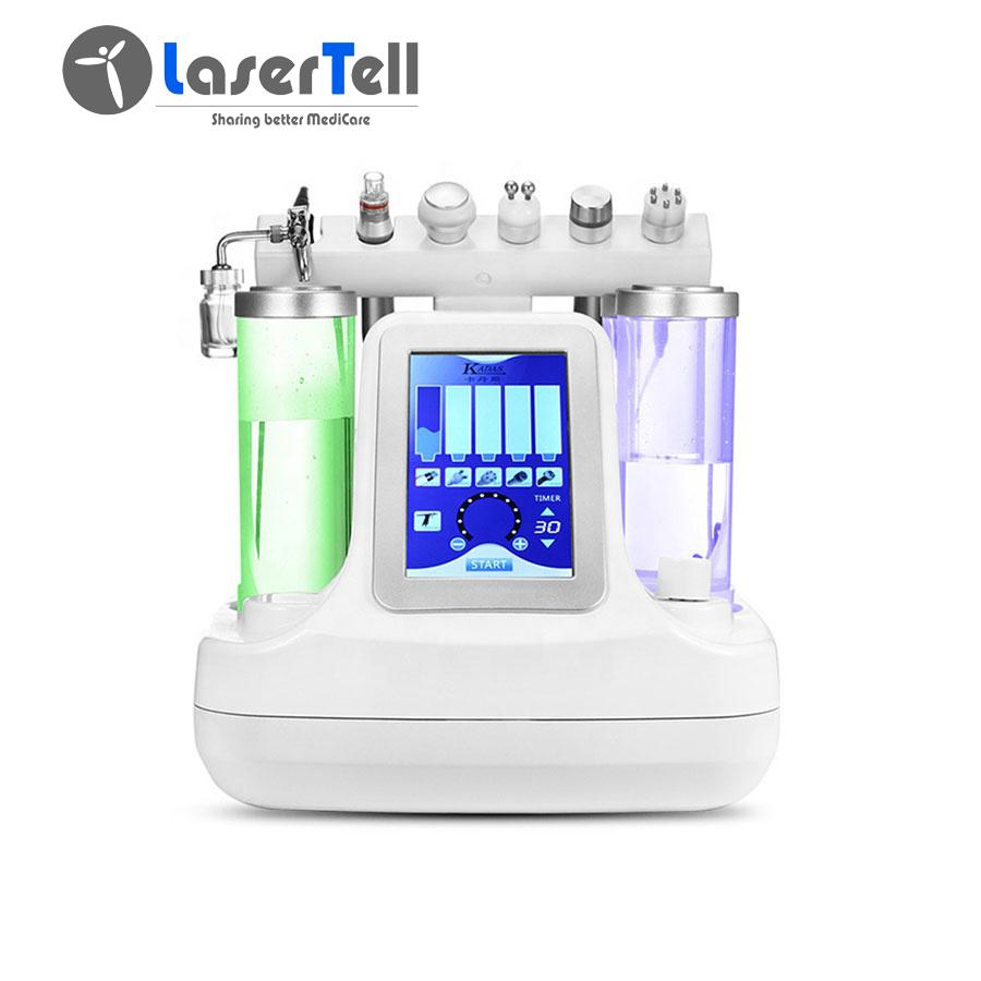 Multi-functional aqua facial machine hydro dermabrasion skin care oxygen facial machine portable beauty equipment