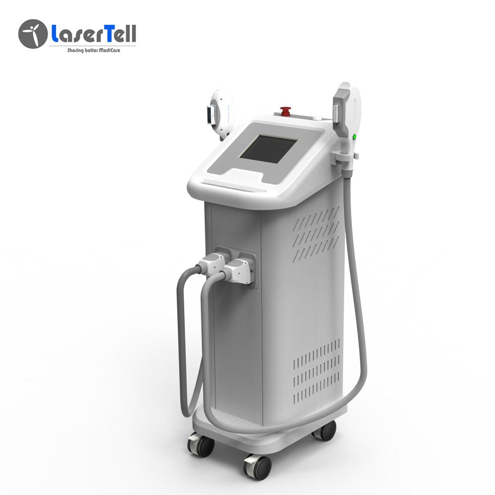 LaserTell Portable and simple ipl e light shr beauty machine/3000w