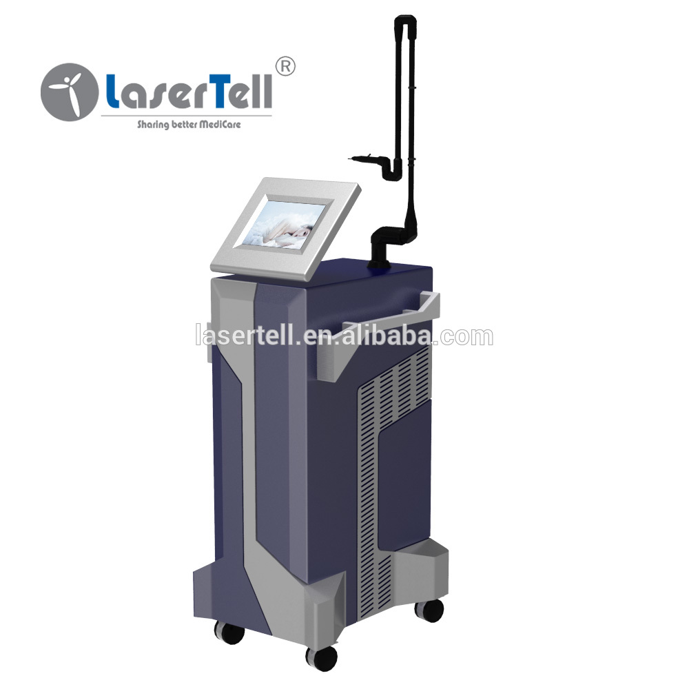 Professional skin renewing co2 laser rf wrinkle removal machine new type laser