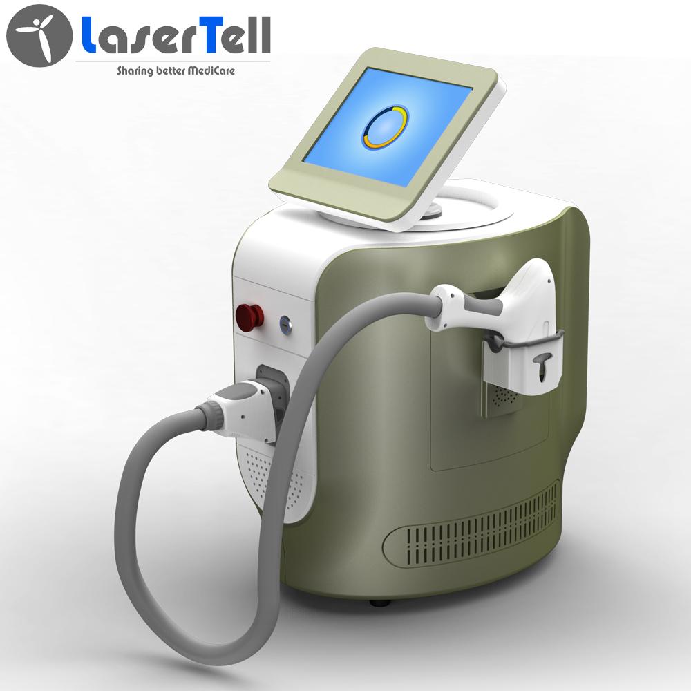 2020 trio laser hair removal triple wavelength (755 808 1064nm) diode laser hair removal machine desktop design new design
