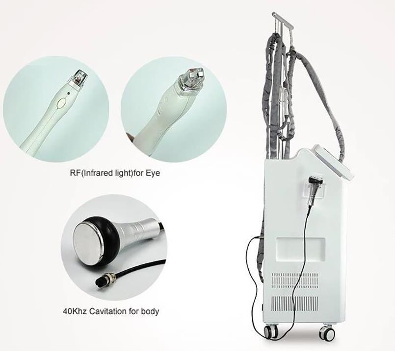 Hot sale slimming machine Vacuum Rollers RF cavitation velashape (1