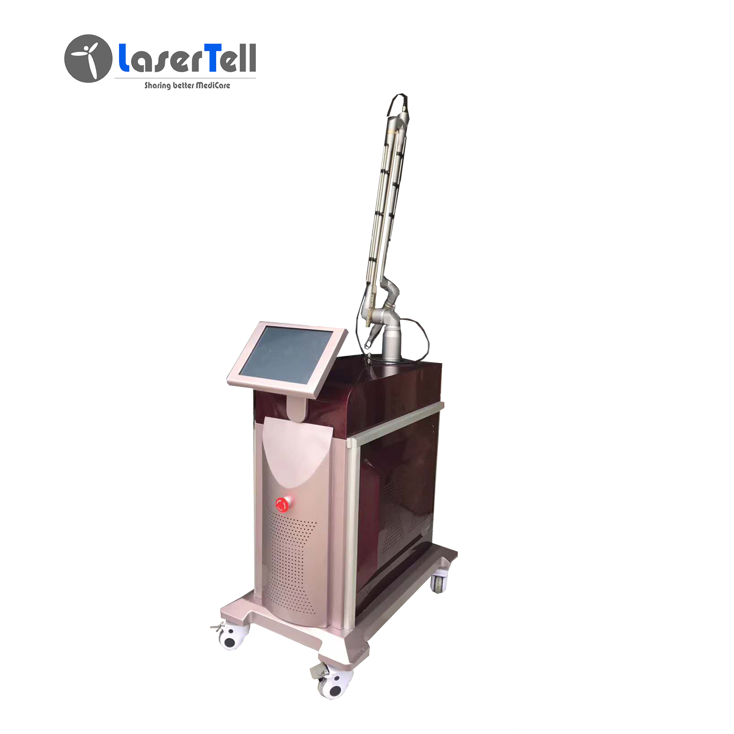 Professional Safe ND Yag Laser mobile tattoo removal machine Pic (1)