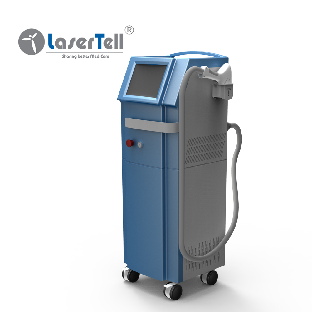 Popular Powerful Germany emitter alexandrite commercial 808nm diode laser hair removal machine price