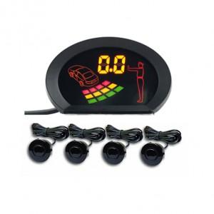 LED Front & Rear Parking Sensor System general use for DC 12V Cars