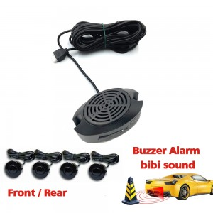 Radar Parking Sensor with Bibibi Alarm Volume Adjustable
