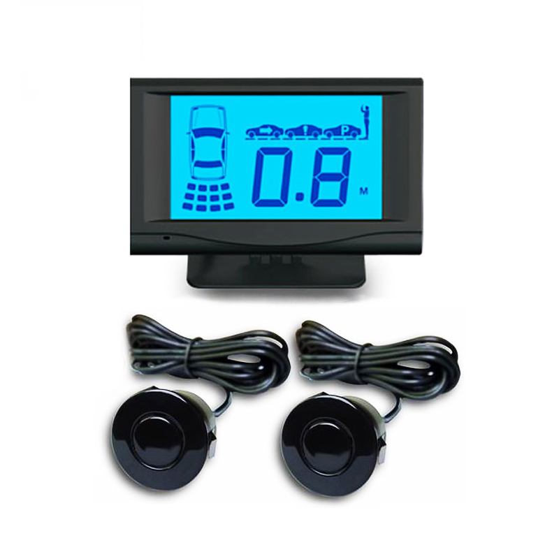 Wholesale Front & rear Parking Sensor with 2/4/6/8 sensors with LCD display Featured Image