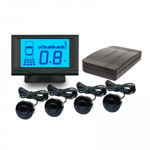 Wholesale Front & rear Parking Sensor with 2/4/6/8 sensors with LCD display