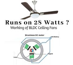 用于电风扇的直流无刷电机和风机叶片单元