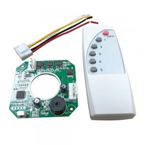 MCCF70吊扇无刷直流电机控制器PCBA驱动板,带遥控BLDC电机的家用风扇应用
