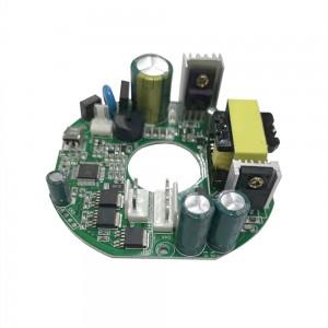 MCCF50吊扇无刷直流电动机控制器PCBA驱动板,带遥控器,适用于家用风扇的无刷直流电动机