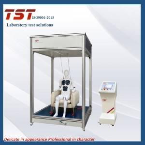 采用智能动态机器人对沙发座椅表面和靠背进行反复加载疲劳耐久性试验