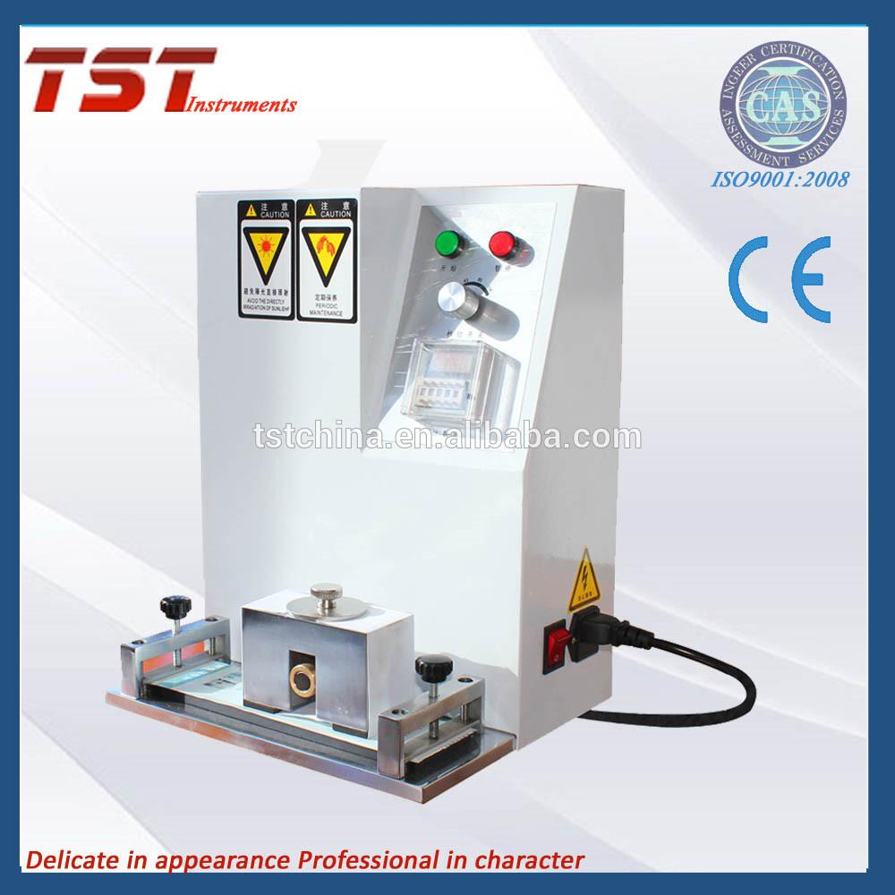 用萨瑟兰纸摩擦试验机测定印刷品的耐磨性