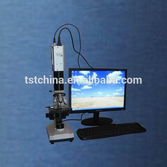计算机控制纤维细度分析系统 - 纤维直径测量