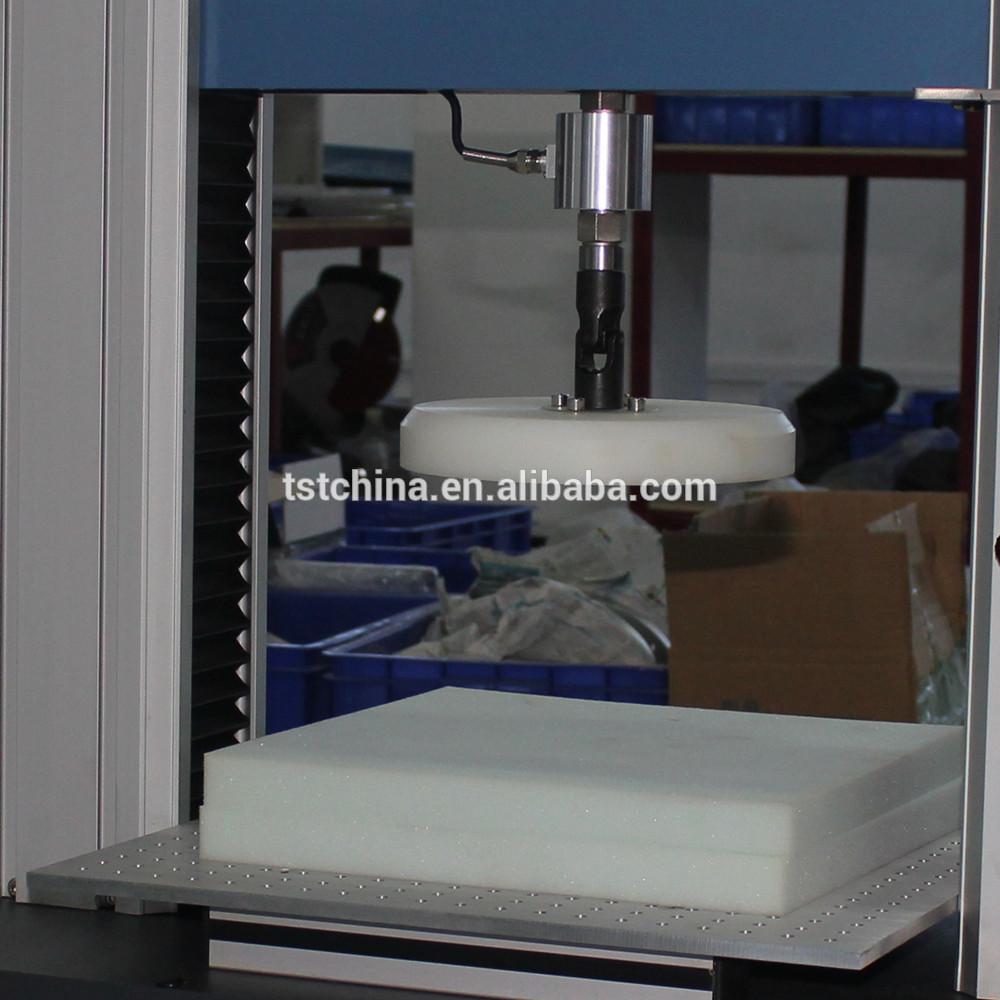ASTM D3574高分子材料泡沫硬度压痕试验-IFD试验机