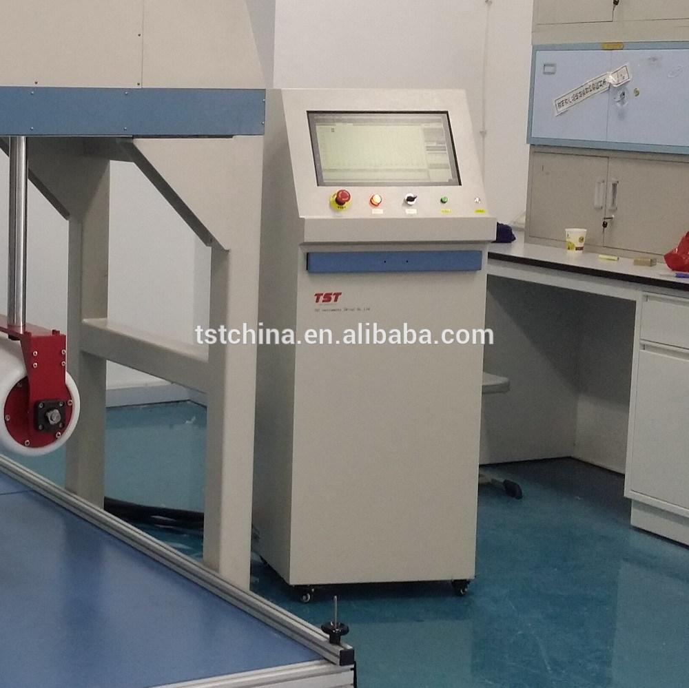 床垫组合试验机为辊筒耐久性、高度、坚固性和边压耐久性床垫测试设备