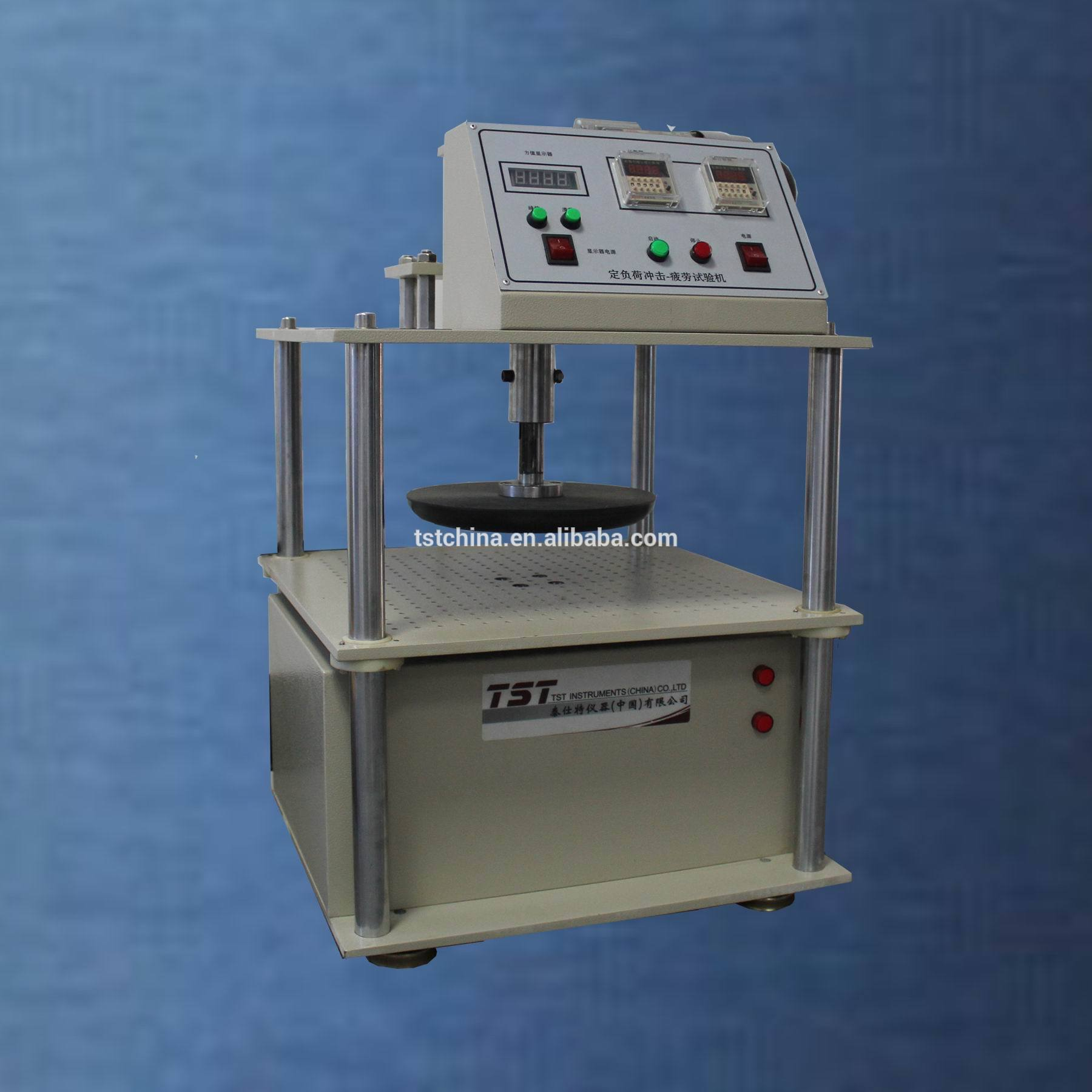 泡沫压缩测试仪通过恒定的捣碎泡沫疲劳测试设备