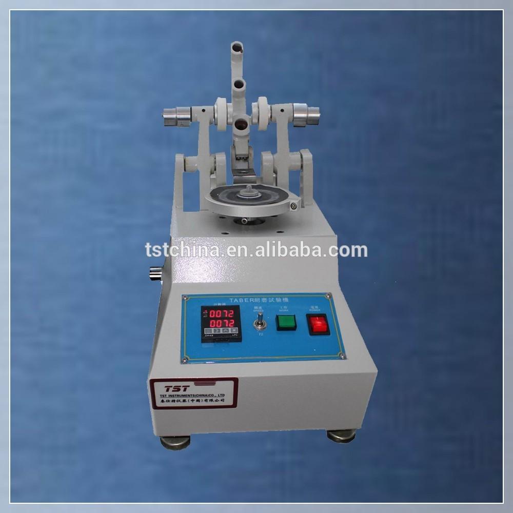 涂层材料ASTM D3884泰伯磨损试验机皮革耐磨性试验
