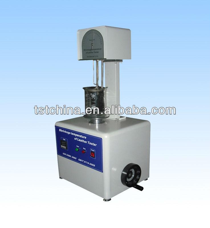 皮革收缩温度试验机