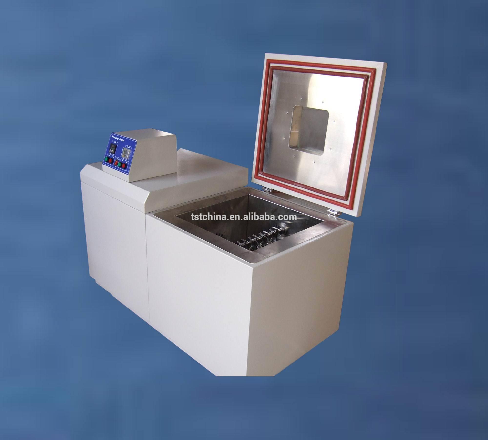 卧式低温冷弯试验机,脆性温度试验