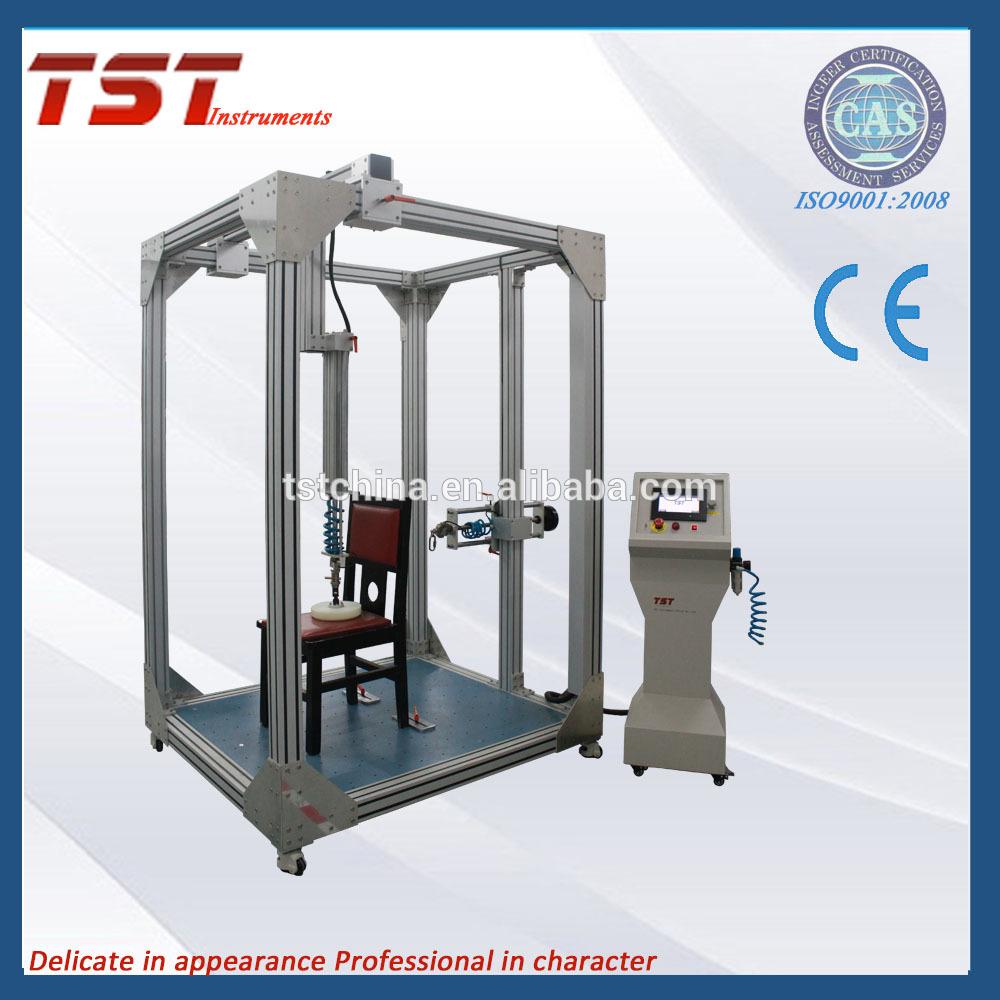 用于休息室,长凳,橱柜家具的椅子稳定性测试仪