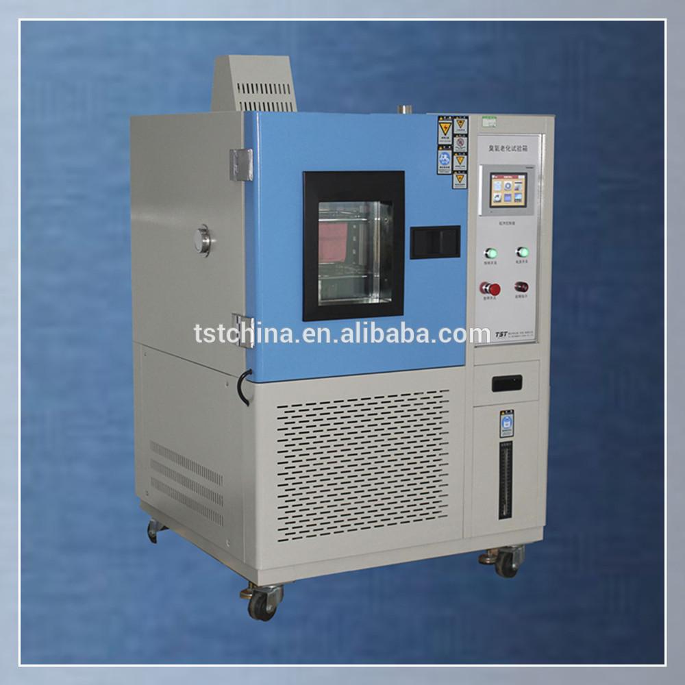 臭氧老化试验室在恒温和臭氧环境测试