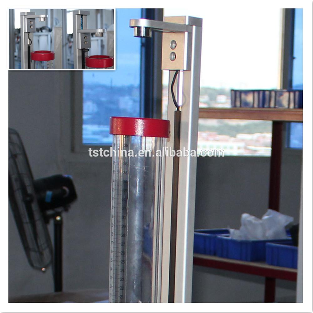 ASTM和ISO泡沫材料滴球反弹弹性测试的新设计
