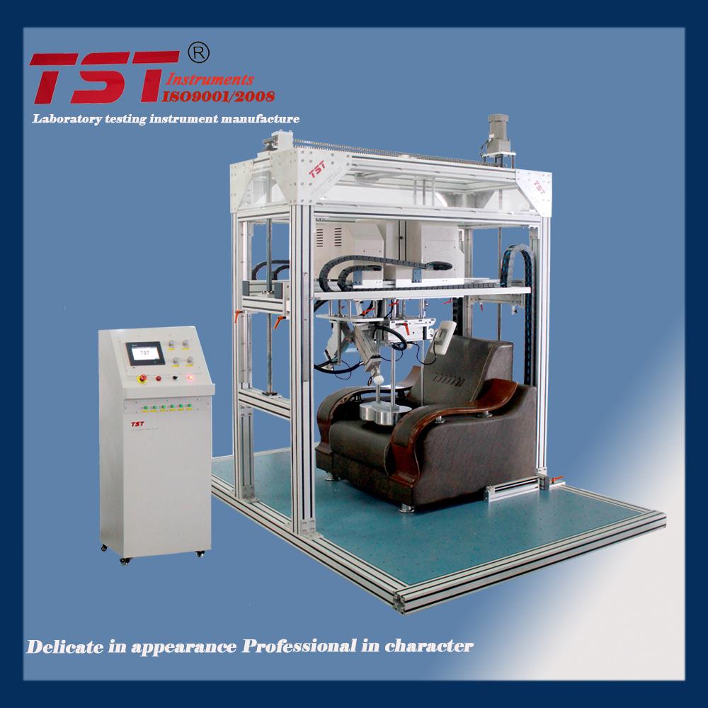 TST-C1016电脑伺服控制沙发靠背和扶手耐久性疲劳测试仪特色图片