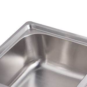 SS Double Tensile Kitchen Sink