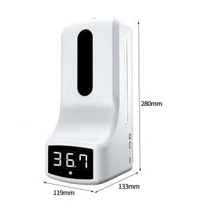 Automatic Thermometer Liquid Soap Dispenser