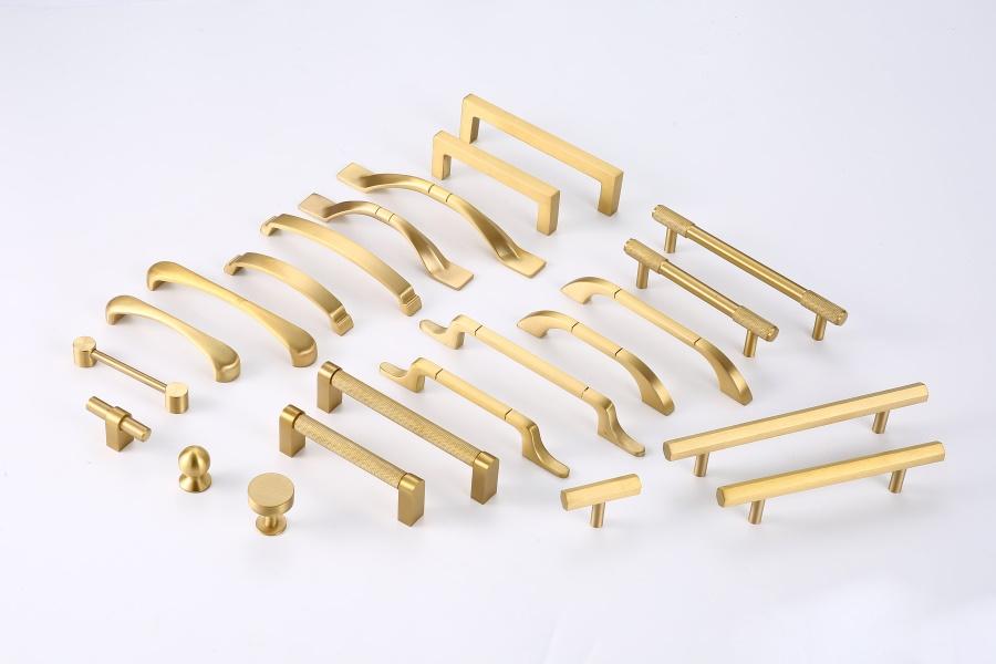 Brass furnitrue door handles